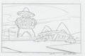 Animation Art:Production Drawing, Disney's Kim Possible Production Background Drawing Group(Walt Disney, 2002-2007).... (Total: 4 Original Art)