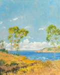 Paintings, JOHN MODESITT (American, b. 1955). Coast Near Point Loma. Oil on canvas. 20 x 16 inches (50.8 x 40.6 cm). Signed lower r...