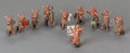 Paintings, AN ASSEMBLED TEN PIECE AUSTRIAN COLD PAINTED BRONZE FIGURAL GROUP OF A PIGLET BAND, IN THE MANNER OF BERGMAN, circa 1900. Ma... (Total: 10 Items)