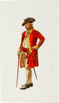 Art:Illustration Art - Mainstream, Revolutionary War: Original Don Troiani Watercolor....