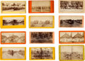 Photography:Stereo Cards, Civil War Stereoviews: Collection of Twelve Gettysburg-Related Images.... (Total: 12 )