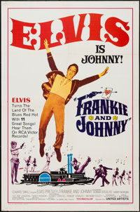 """Frankie and Johnny (United Artists, 1966). One Sheet (27"""" X 41"""") & Uncut Pressbook (6 Pages, 11""""..."""