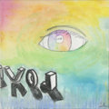 Mainstream Illustration, Untitled-018 . Eye, Love . Watercolor on canvas . 12 x 12in.. ...