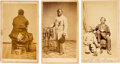 Photography:CDVs, Three Civil War-Era Cartes de Visite.... (Total: 3 )