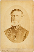 Photography:Cabinet Photos, General Leonidas Polk Cabinet Card....