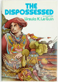 Books:Science Fiction & Fantasy, Ursula K. Le Guin. The Dispossessed. New York: First edition, first printing. Publisher's cloth and original dust ja...