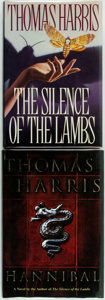 Books:Horror & Supernatural, Thomas Harris. The Silence of the Lambs [and:]Hannibal. New York: St. Martin's Press, [1988]/DelacortePres... (Total: 2 Items)