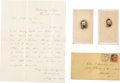 Autographs:Military Figures, Ulysses S. Grant Autograph Letter Signed with Related Archive....(Total: 9 Items)