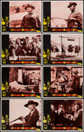 "Movie Posters:Western, For a Few Dollars More (United Artists, 1967). Lobby Card Set of 8(11"" X 14""). Western.. ... (Total: 8 Items)"