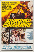 "Movie Posters:War, Armored Command (Allied Artists, 1961). One Sheet (27"" X 41"").War.. ..."