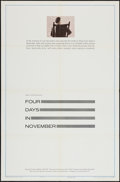 """Movie Posters:Documentary, Four Days in November (United Artists, 1964). One Sheet (27"""" X 41"""") & Lobby Card Set of 8 (11"""" X 14""""). Documentary.. ... (Total: 9 Items)"""