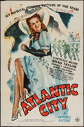 "Movie Posters:Musical, Atlantic City (Republic, 1944). One Sheet (27"" X 41""). Musical....."