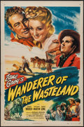 "Movie Posters:Western, Wanderer of the Wasteland (RKO, 1945). One Sheet (27"" X 41"").Western.. ..."