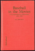 Movie Posters:Miscellaneous, Baseball in the Movies: A Comprehensive Reference, 1915-1991 by HalErickson (McFarland & Co., 1992). Hardcover Book (406 Pa...