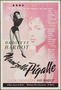 "Movie Posters:Sexploitation, That Naughty Girl (Films Around the World, 1956). One Sheet (27"" X41"") Alternative Title: Mam'zelle Pigalle. Sexploitat..."