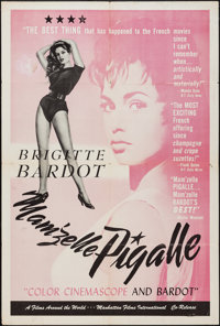 "That Naughty Girl (Films Around the World, 1958). First U.S. Release One Sheet (27"" X 41""). Sexploitation. Alt..."