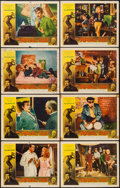 "Movie Posters:Exploitation, The Rebel Set (Allied Artists, 1959). Lobby Card Set of 8 (11"" X14""). Exploitation.. ... (Total: 8 Items)"