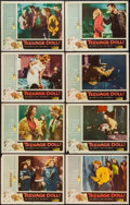 "Movie Posters:Bad Girl, Teenage Doll (Allied Artists, 1957). Lobby Card Set of 8 (11"" X14""). Bad Girl.. ... (Total: 8 Items)"