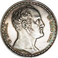 Russia: , Russia: Nicholas I. 1-1/2 Family Rouble 1836, obverse signed in full Р. П. УТКИНБ (Paul Utkin), reverse unsigned, Bust of Nicholas I...