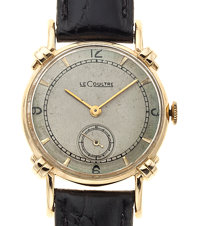 LeCoultre 14k Gold Manual Wind Wristwatch