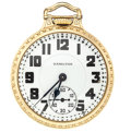 Timepieces:Pocket (post 1900), Hamilton 23 Jewel Model 950 Open Face Pocket Watch. ...