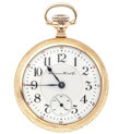 Timepieces:Pocket (post 1900), Hampden 23 Jewel Special Railway 18 Size Pocket Watch. ...