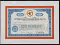 Baseball Collectibles:Others, 1978 Baltimore Orioles Stock Certificate....