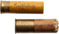Ammunition, Cody & Oakley: Two Souvenir Shotgun Shells from Circa 1901 Wild West Show....