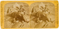 Photography:Stereo Cards, Custer on the Black Hills Expedition: A Scarce Illingsworth Stereoview. ...