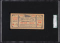 Baseball Collectibles:Tickets, 1948 Negro League Baseball All Star Game Full Ticket, SGCAuthentic....