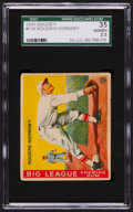 Baseball Cards:Singles (1930-1939), 1933 Goudey Rogers Hornsby #119 SGC 35 Good+ 2.5....