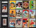 Baseball Cards:Lots, 1911 - 1975 Baseball & Boxing Card Collection (20) - All Starsand Hall of Famers! ...