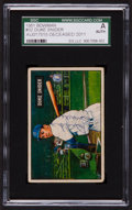 Baseball Cards:Autographs, Signed 1951 Bowman Duke Snider #32 SGC Authentic. ...