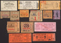 Boxing Collectibles:Memorabilia, 1900's-80's Boxing Ticket Stubs, Etc. Lot of 14....