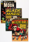 Golden Age (1938-1955):Horror, Golden Age Horror Group (Various Publishers, 1950s) Condition:Average GD.... (Total: 9 Comic Books)