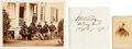 Photography:CDVs, Union General James Wilson and Staff Albumen, Carte deVisite, and Clipped Signature.... (Total: 3 )