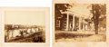 Photography:Cabinet Photos, Two Fredericksburg, Virginia, Images, circa 1863.... (Total: 2 )