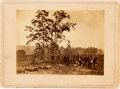 "Photography:Cabinet Photos, Brady Gallery Card, ""Burying the Dead on the Battle-Field ofAntietam.""..."