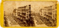 Political:Memorial (1800-present), Abraham Lincoln's New York Funeral Procession Stereoview. ...
