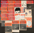 Boxing Collectibles:Memorabilia, 1946-63 Boxing Fight Programs Lot of 25....