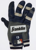 Baseball Collectibles:Others, Tony Gwynn Game Worn, Signed Batting Glove....