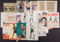Boxing Collectibles:Memorabilia, Vintage Boxing Clippings, Images and Ephemera Lot of 21....