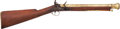 Long Guns:Muzzle loading, London Flintlock Brass-Barreled Blunderbuss by W.Bond....