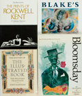 Books:Art & Architecture, [Illustration, Rockwell Kent, et al]. Group of Four Books. Various publishers and dates. Quarto to large folios. Original bi... (Total: 4 Items)