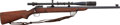 Long Guns:Bolt Action, Winchester Model 52 Bolt Action Target Rifle with Telescopic Sight....