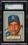 Autographs:Sports Cards, Signed 1952 Topps Bob Hooper #340 SGC Authentic....