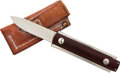 Edged Weapons:Knives, Folding Knife by Ted Dowel....