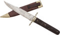 Edged Weapons:Knives, Bowie Knife by Joseph Rodgers & Sons Sheffield....