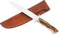 Edged Weapons:Knives, Bowie Knife by Lloyd Pendleton....