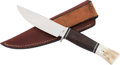 Edged Weapons:Knives, Small Bowie Knife by P.J. Tomes....
